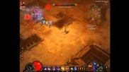Diablo 3 Demon Hunter killing Maghda for 1 min