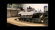 tank and tank transporter Rc in 1/35