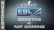 dignitas vs. Nip Gaming - Semifinal Map 1 - Ems One Katowice 2014 - Cs:go