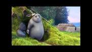 Забавна анимация за мазнини заек