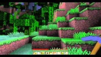 Minecraft-оцелей-мината