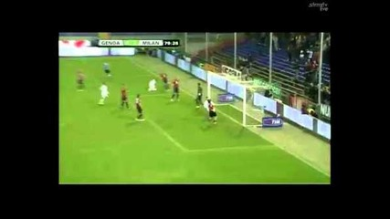 Дженоа 0:2 Милан - Гол на Ночерино