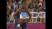 Олимпийски игри Атина 2004 100м финал жени