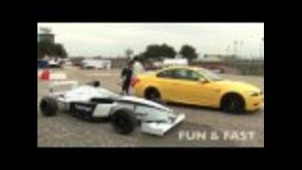 Bmw M3 vs Formula Bmw