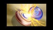 Beyblade Metal Masters Galaxy Pegasus срещу Meteo Ldrago