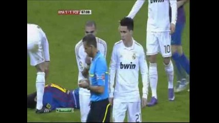 Barcelona Vs Real Madrid 2-1 All Highlights And Goals 18-1-2012