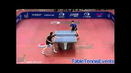 Wang Hao vs Ma Long [korea Open 2013]
