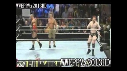 Wwe Elimination chamber 2013 Highlights