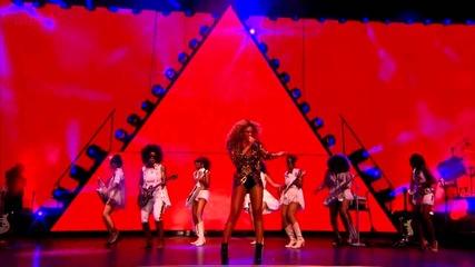 Beyonce - Naughty Girl & Baby Boy (glastonbury 2011)