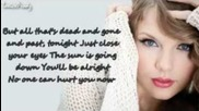 Taylor Swift Ft. The Civil Wars - Safe & Sound (full Song + Lyrics)