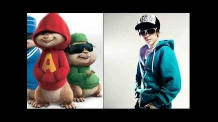 Justin Bieber - Baby-chipmunks