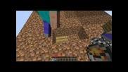 Minecraft Skyblock Оцеляване w/ raz4or , bangarang Epic Fail ;d