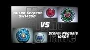 Poison Serpent Sw145sd Vs Storm Pegasis 105rf