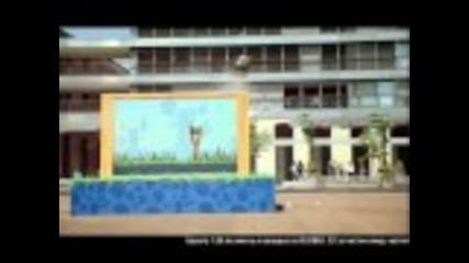 Рекламата на Глобул с фестивала на Енгри Бърдс [2011]