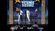 Вергин и Юсуф в Турция Търси Талант 2013