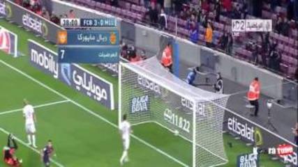 Barcelona Vs Mallorca 5-0 All Goals & highlights (6/4/2013)