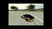 Live For Speed:drift with Hama Racing Wheel 90