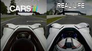 Project Cars Vs Real Life - Bac Mono @ Oulton Park
