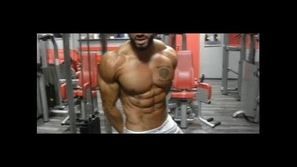Lazar Angelov arms workout 2013