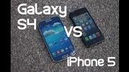 Samsung Galaxy S4 vs. iphone 5 Drop Test