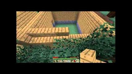 Minecraft - Приключенията на Дани , Mapиo и Зайо Еп.4