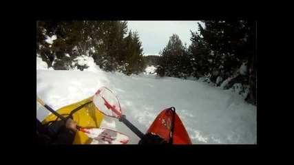 Каяк на сняг / Snowyak