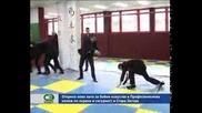Откриха нова зала за бойни изкуства в Професионалния колеж по охрана и сигурност в Стара Загора.