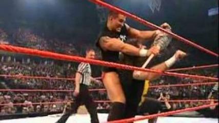 Randy Orton Vs Mick Foley на бруталният мач до сега