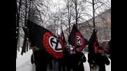 Русия - Автово 9 декември 2012 - Марш против етническата престъпност