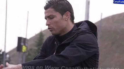 Тренировка с Кристиано Роналдо