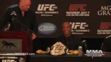 Silva vs Sonnen Ii Post-fight Press Conference