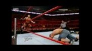 John Cena and Randy Orton Vs Batista and Jack Swagger