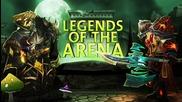 Swifty Legends of the Arena - Thyraz vs. Pilav