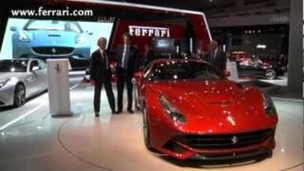 Ferrari at the 2012 Paris Car Show