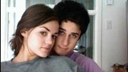 Cute Couple--david Henrie and Lucy Hale!