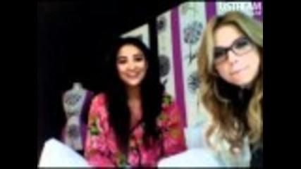 Live Chat w/ Shay Mitchell & Ashley Benson part 1, 3/10/11