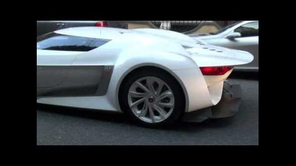 Citroen Gt Massive Revs In London!!