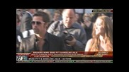 Brad Pitt & Angelina Jolie at Inglourious Basterds premiere