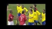 Играчите на Арсенал замалко да пребият Рууд Ван Нистелрой на терена ! Ман Ю 0-0 Арсенал 21.9.2003