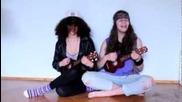 Мила и Жулия - Sweet Child 'o Mine - Cosplay кавър укулеле