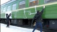 Graffiti train bombing: Tacepds - Moscow