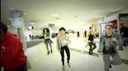 Танцьорите на Джей танцуват на летището