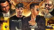 Nicky Jam Ft Franco el Gorila, Michael, Eloy - Cositas Locas Remix (original) Video Music 2014
