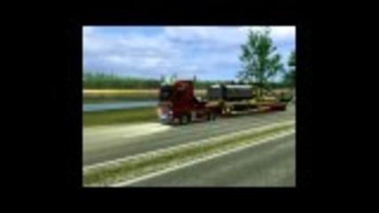 euro truck simulator-man Tgx V8