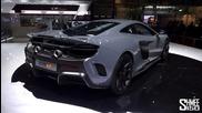 First Look: Mclaren 675lt - Preview at Geneva 2015