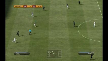 Fifa 12 Gameplay Real Madrid vs Chelsea
