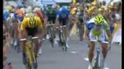 Tour De France - stage 1: Sagan vs Cancellara and B.hagen