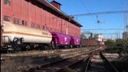 43 544 и 07 053 с дълъг товарен влак
