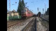 45 186+43 539+43 551 с товарен влак