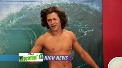 Kickin It- Leo Howard (jack) Shirtless